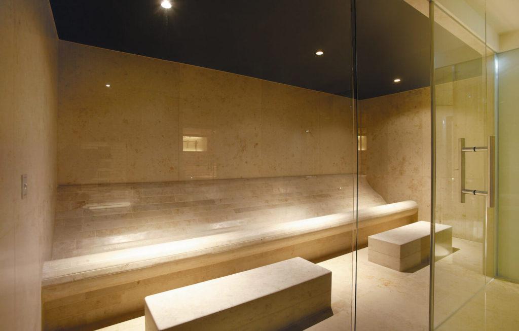 dampfbad und hamam. Black Bedroom Furniture Sets. Home Design Ideas