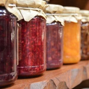 Marmelade & heimische Konfitüre